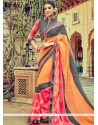 Jazzy Printed Saree For Party