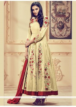 Epitome Lace Work Anarkali Suit