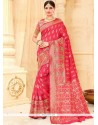 Spectacular Tussar Silk Weaving Work Designer Traditional Saree