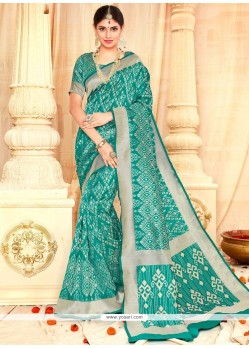 Topnotch Tussar Silk Traditional Saree