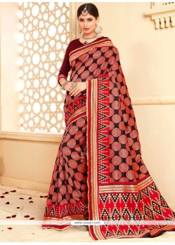 Mesmeric Tussar Silk Weaving Work Designer Traditional Saree