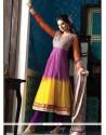 Aspiring Net Anarkali Suit