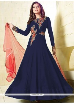 Groovy Faux Georgette Floor Length Anarkali Suit