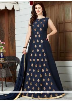Energetic Cotton Silk Floor Length Anarkali Suit