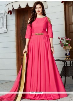 Epitome Art Silk Floor Length Designer Suit