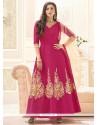 Gauhar Khan Stone Work Floor Length Anarkali Suit