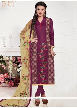 Innovative Cotton Churidar Suit