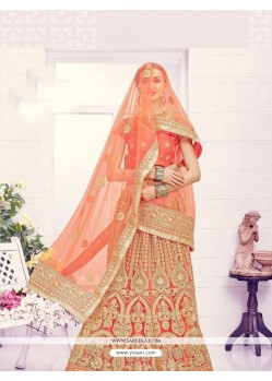 Perfect Embroidered Work Net A Line Lehenga Choli