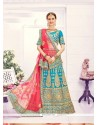 Immaculate Art Silk Zari Work Designer Lehenga Choli