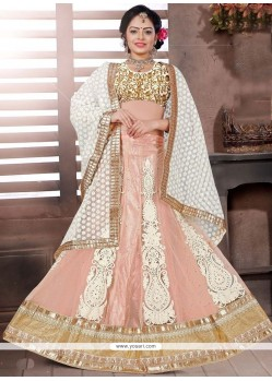 Trendy Resham Work Net Lehenga Choli