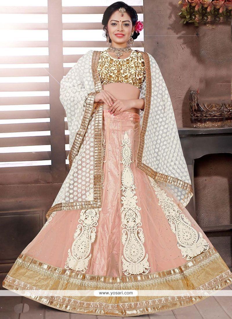 Trendy Resham Work Net Lehenga Choli