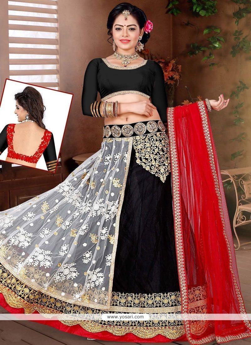 Elegant Lace Work Lehenga Choli