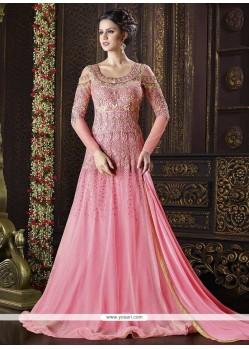 Ethnic Net Floor Length Anarkali Suit