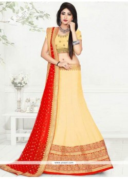 Adorning Embroidered Work Art Silk Lehenga Choli