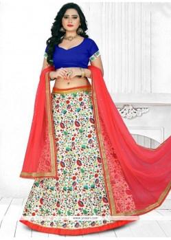 Vivacious Art Silk Lehenga Choli