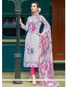 Dignified Cotton Multi Colour Pant Style Suit