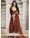 Charming Embroidered Work Faux Georgette Designer Palazzo Suit