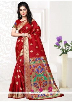 Ravishing Art Silk Designer Traditional Saree