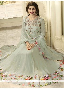 Prachi Desai Stone Work Faux Georgette Anarkali Suit