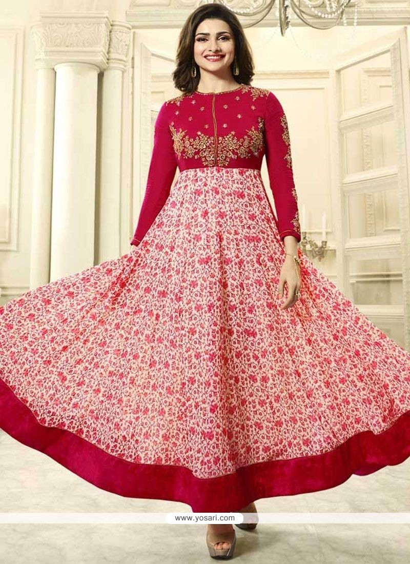e772a7a0cb Buy Prachi Desai Embroidered Work Anarkali Suit | Anarkali Suits