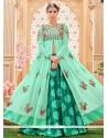 Conspicuous Long Choli Lehenga For Wedding