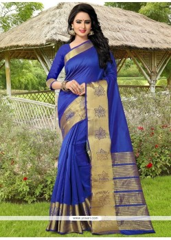 Piquant Banarasi Silk Weaving Work Traditional Saree