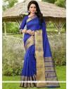 Piquant Banarasi Silk Weaving Work Traditional Saree