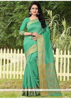 Artistic Banarasi Silk Traditional Designer Saree
