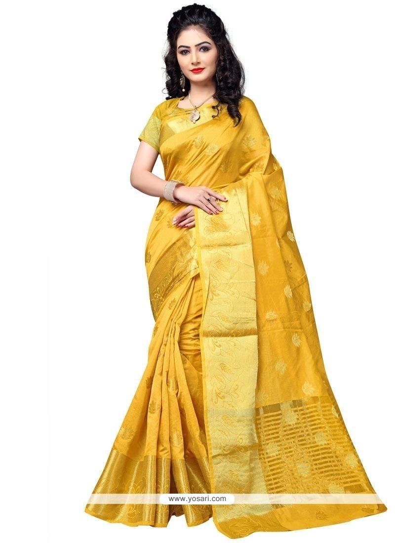 Deserving Cotton Silk Traditional Designer Saree