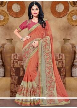 Urbane Lace Work Classic Designer Saree