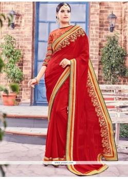 Subtle Fancy Fabric Saree