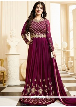 Ayesha Takia Resham Work Floor Length Anarkali Suit