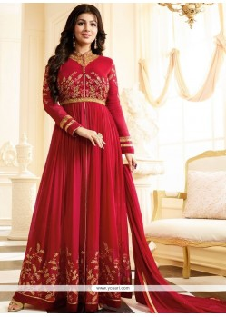 Ayesha Takia Faux Georgette Resham Work Floor Length Anarkali Suit