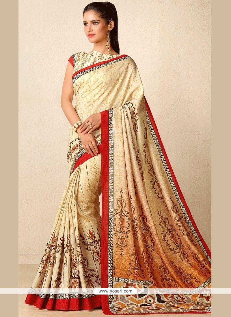 0e441b2118c Buy Splendid Tussar Silk Print Work Designer Traditional Saree ...