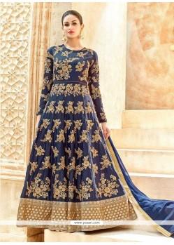 Dainty Art Silk Lace Work Floor Length Anarkali Suit