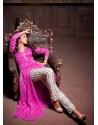 Pink Chiffon Salwaar Kameez
