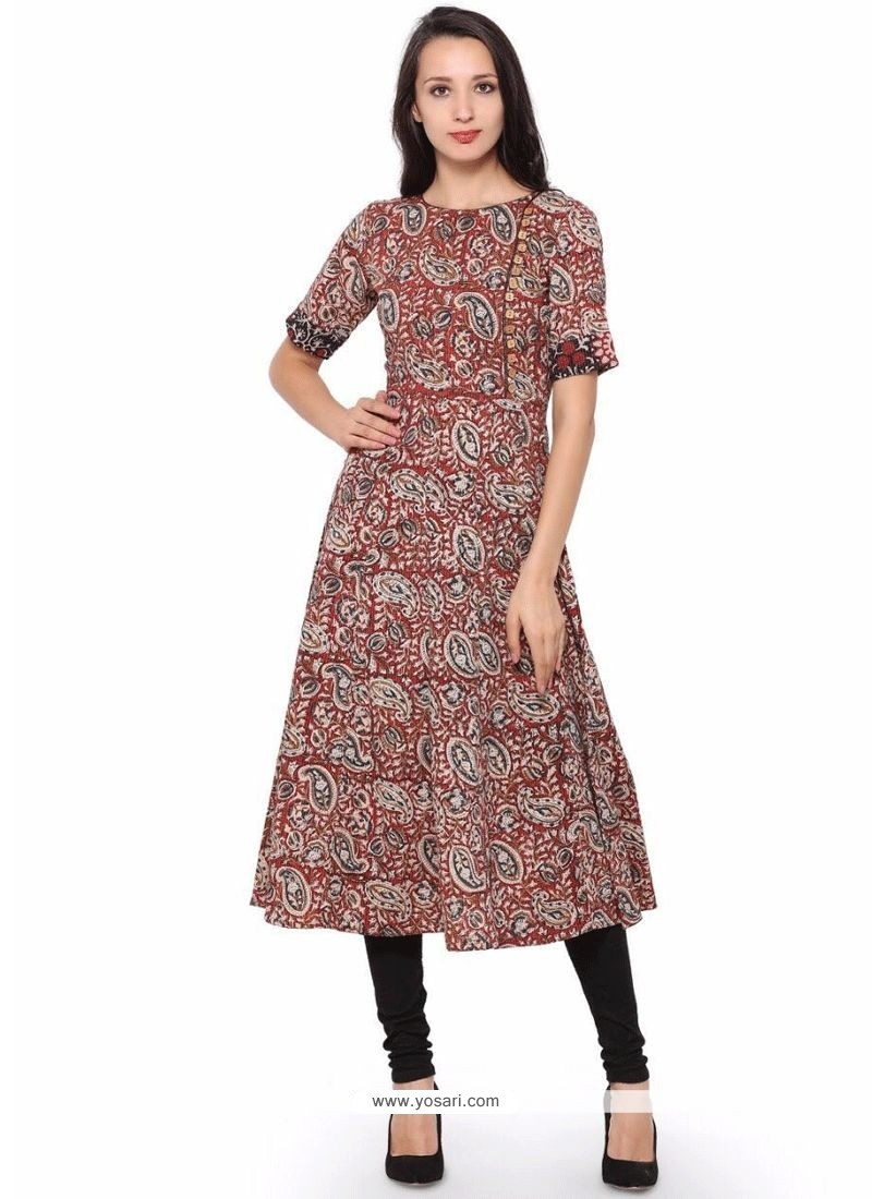 Buy Multi Colour Party Wear Kurti Party Wear Kurtis