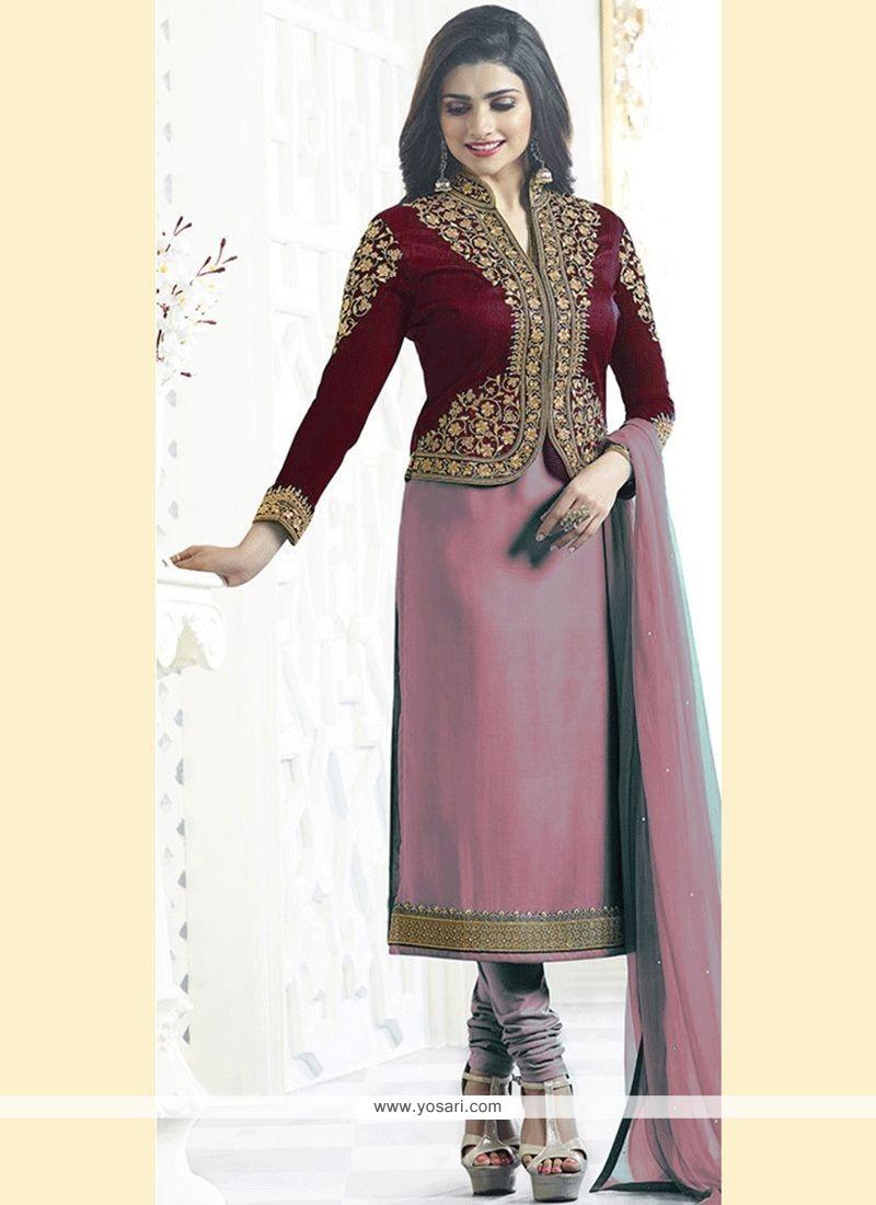 c659d917dc Buy Prachi Desai Resham Work Churidar Designer Suit | Churidar ...
