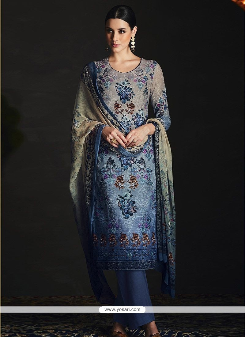 260258727e Buy Cotton Silk Multi Colour Pakistani Straight Suit | Straight ...