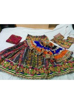 Multi Color Festival Wear Lehenga Choli