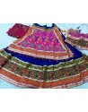 Blue Embroidered Navratri Ghagra Choli