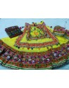 Yellow Cotton Festival Wear Ghagra Choli For Navratri