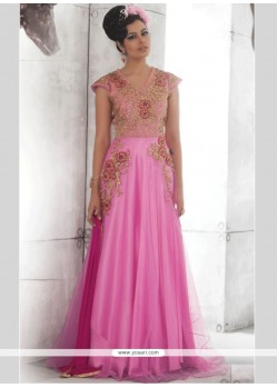 Embroidered Work Designer Gown