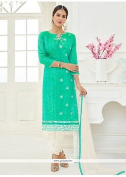 Sea Green Churidar Suit