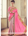 Patch Border Work Traditional Saree