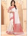 Banarasi Silk Weaving Work Traditional Saree