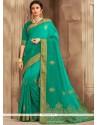 Print Work Art Silk Traditional Designer Saree
