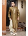 Sterling Golden Art Silk Kurta Pajama size 50