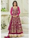 Krystle Dsouza Malbari Silk Floor Length Anarkali Suit