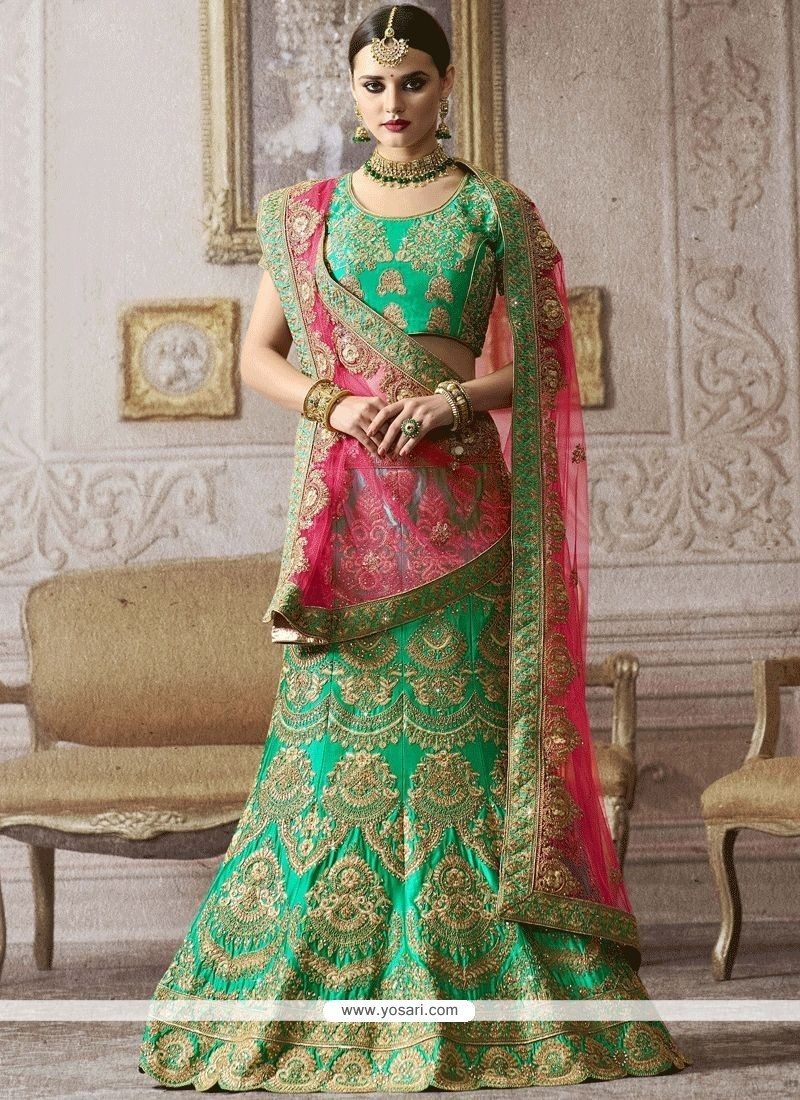 643e5326ef1 Buy Embroidered Work Satin Lehenga Choli